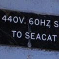 Switchgear for Sea Cat missile launcher