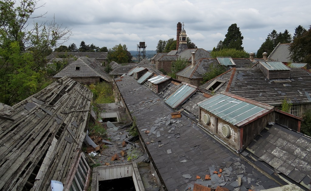 The Derelict Miscellany Mid Wales Hospital