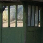 The last surviving airing-court shelter