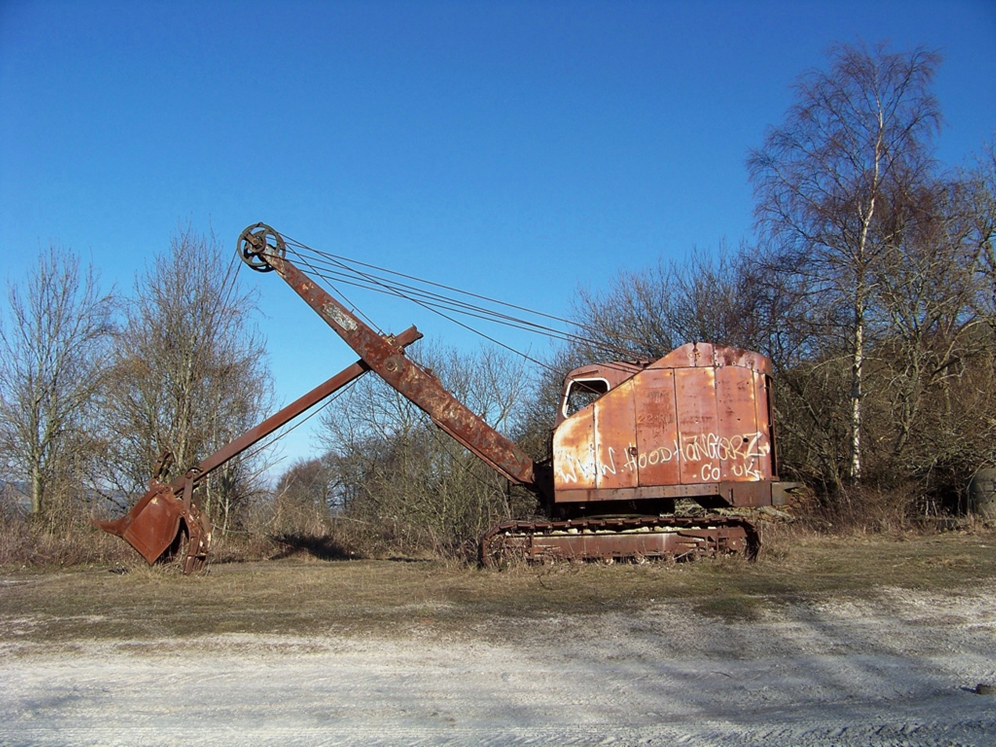 Ruston-Bucyrus 22-RB front-shovel, built c1970